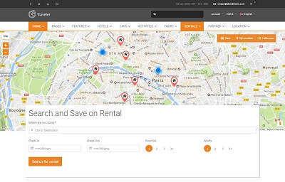 List Rentals - Full Map